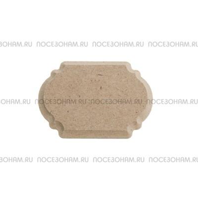 Накладка для декора фигурная мини МДФ 900-1.16