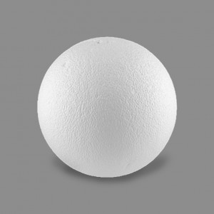 """Заготовка для декорирования """"шар"""" из пенопласта 250 мм"""