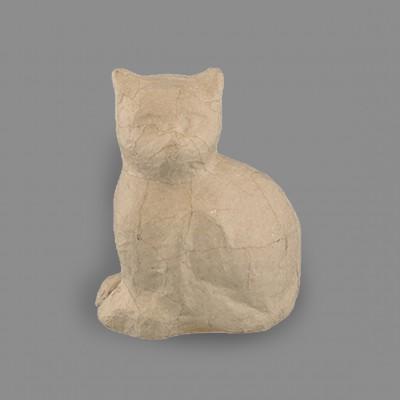 """Заготовка для декорирования из папье-маше """"кошка"""", 14 x 7.5 x 17.8 см."""