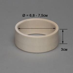Деревянный браслет взрослый 3см (прямой)