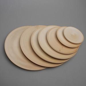 Тарелка деревянная диаметр от 5 до 20 см