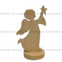 """Фигурка """"Ангел со звездой"""" (на круглой подставке)"""