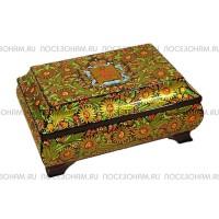 Сундук-шкатулка (хохлома)