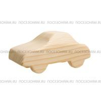 """Деревянная трехмерная заготовка """"Легковой автомобиль"""""""