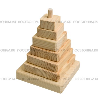 """Деревянная заготовка """"Пирамида"""""""