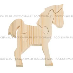 """Деревянный пазл """"Лошадка-2"""""""