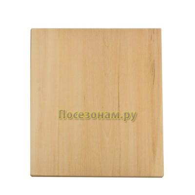 Заготовка деревянная прямоугольная из липы для резьбы по дереву 1-12.010