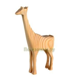 """Деревянная трехмерная заготовка """"Жираф"""""""