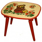 Детская мебель Хохлома
