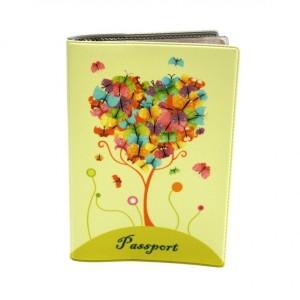 """Обложка для паспорта """"Дерево"""", 188х134"""
