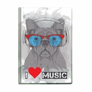 "Обложка для паспорта ""Собака"", 188х134 мм"