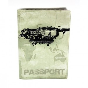 """Обложка для паспорта """"Твой стиль"""", """"Гранж"""", 188х134 мм"""