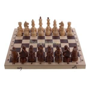 Шахматы турнирные в комплекте с доской 400x200x50