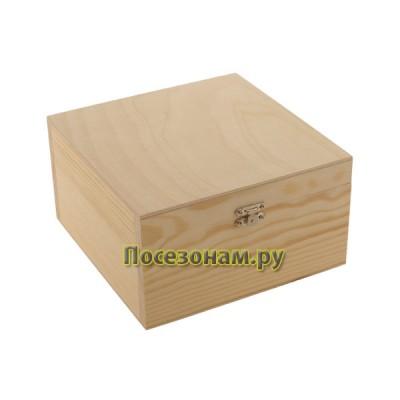Шкатулка деревянная 702-1