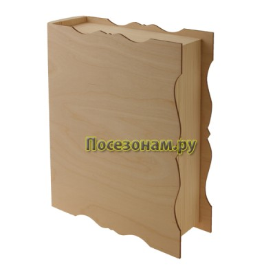 Книга (шкатулка) из дерева 020-3