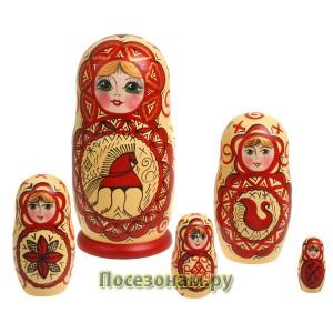 Матрешка 5-ти кукольная (авторская)