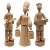 Деревянные заготовки фигурок