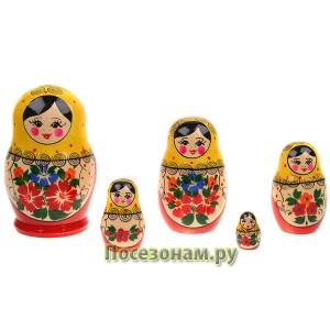 """Матрешка """"Мария"""" 5-ти кукольная"""