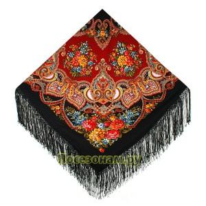 """Павловопосадская шаль """"Майя"""""""