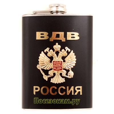 """Фляжка """"ВДВ"""" (черная)"""