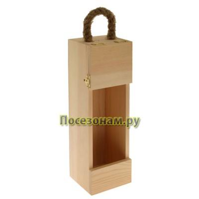 Футляр деревянный под бутылку (шампанское) 801-1