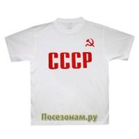 """Футболка """"УНИСЕКС"""" с символикой, Размер M"""