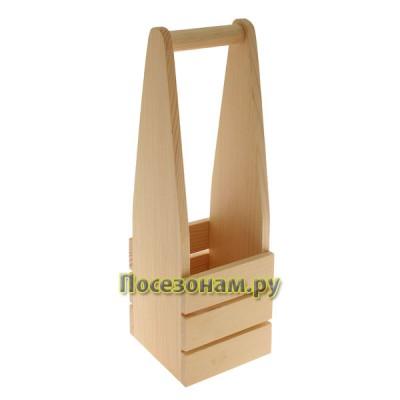 Короб деревянный под бутылку (шампанское)