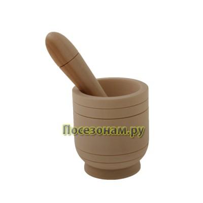 Деревянная заготовка ступка с пестиком 1-9.103