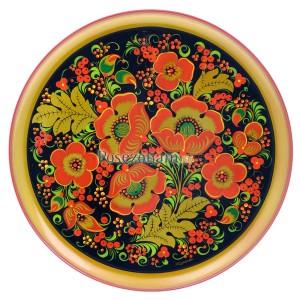 Тарелка-панно (хохлома)