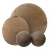 Деревянные заготовки шаров