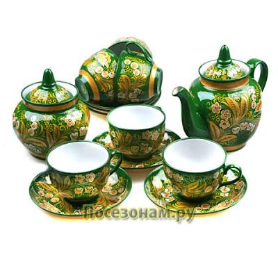 Чайный сервиз (хохлома)