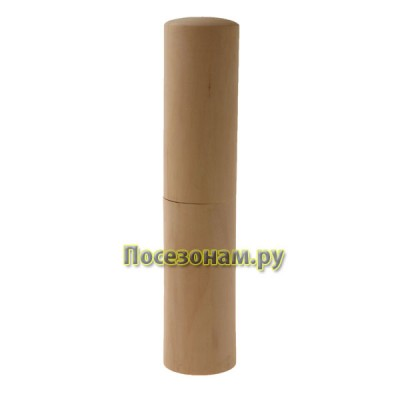 Пенал цилиндрический из дерева