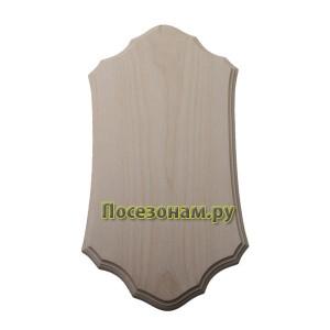 Заготовка панно (фигурный рез) с фаской по краю