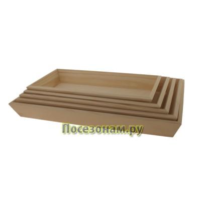 Набор деревянных подносов 190