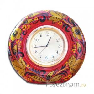 Часы настольные (хохлома)