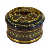 Коробки с миниатюрной росписью Хохлома