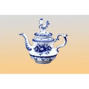 Чайник «Петушок» (гжель)