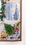 Павловопосадская скатерть «Рождественская история»
