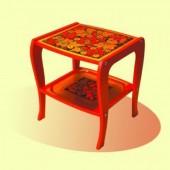Мебель хохлома