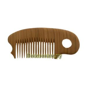 Деревянная расческа