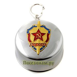 """Стакан большой """"КГБ СССР"""""""