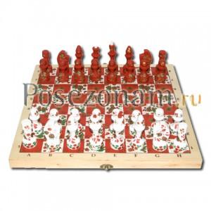 Шахматы красно-белые