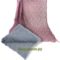 Пуховый шарф 180 x 60 см