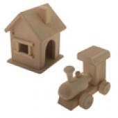Деревянные заготовки игрушек