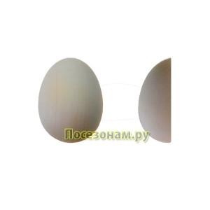 """Деревянная заготовка для магнита """"Яйцо"""" малое (половинка)"""