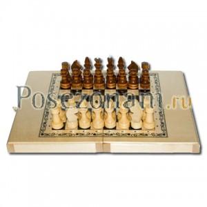 Шахматы «Империя 3 в 1 малые» светл.