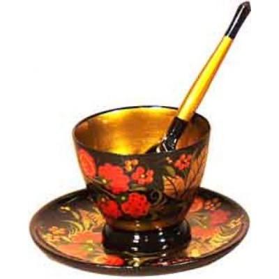 Комплект для кофе (хохлома)