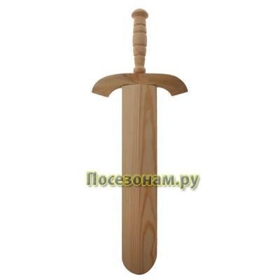 Меч деревянный в ножнах (малый) 48 см
