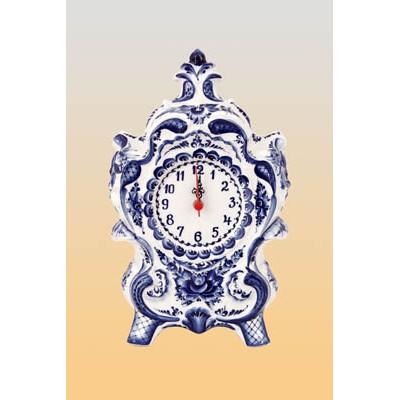 Часы «Торжественные» (гжель)