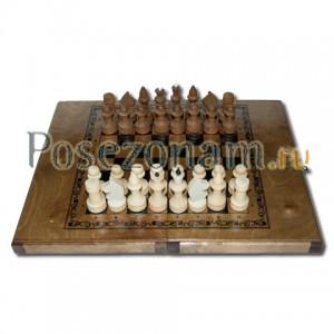Шахматы «Империя 3 в 1 малые» тонир.